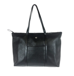 NEW Getaway Tote - Black Graphic