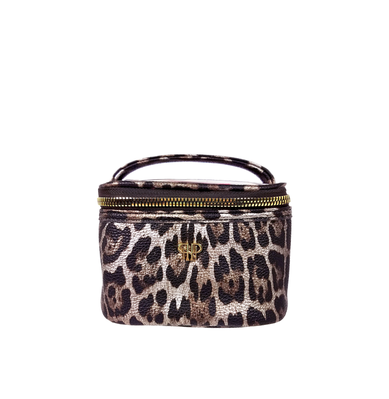 NEW Getaway Jewelry Case - Bronze Leopard