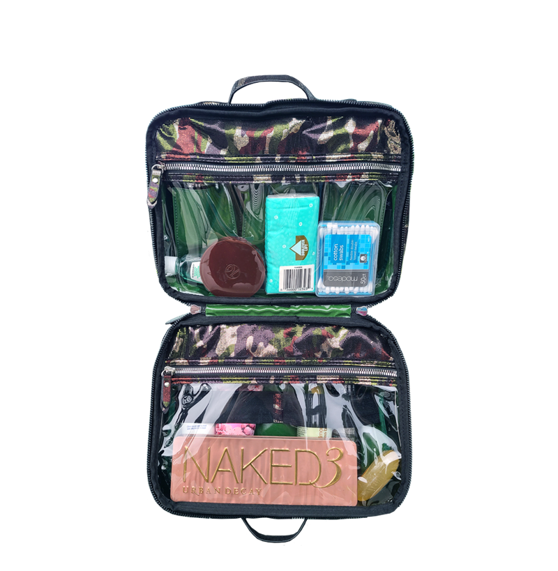 Getaway Liea Toiletry Case - Camo