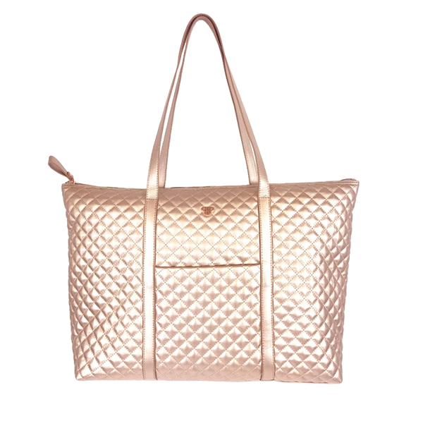 NEW Getaway Tote - Copper Quilted
