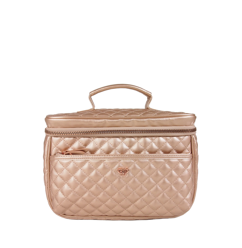 NEW Getaway Classic Train Case - Copper Quilted
