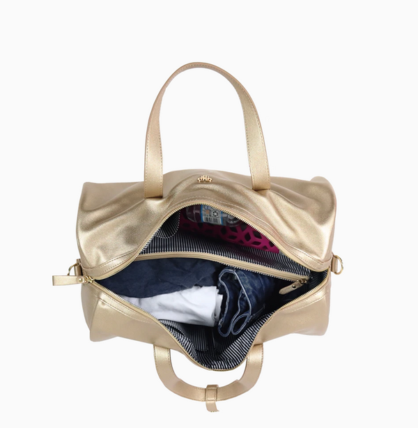 Getaway Gym Bag - Gold