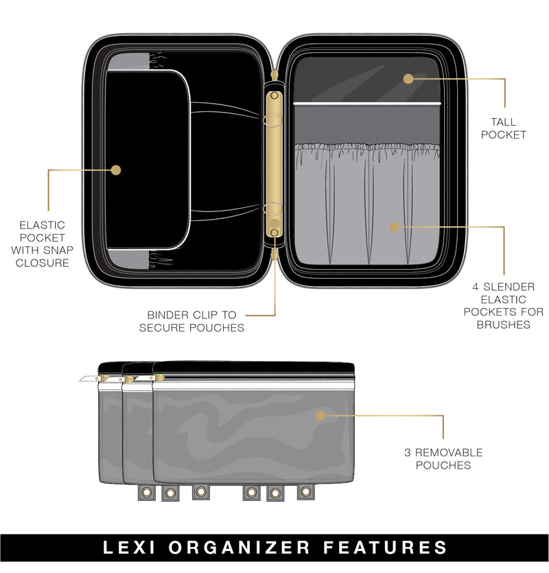 Lexi Travel Organizer - Lotus