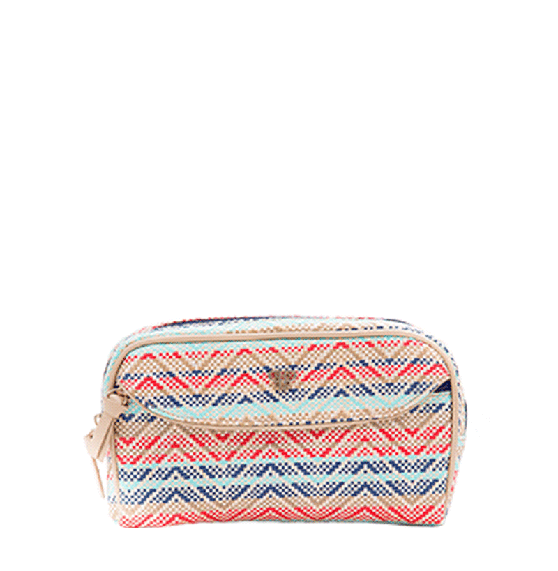 Clutch Makeup Case - Sunset Tides