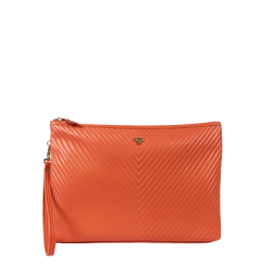 NEW Getaway Litt Large Makeup Case - Orange