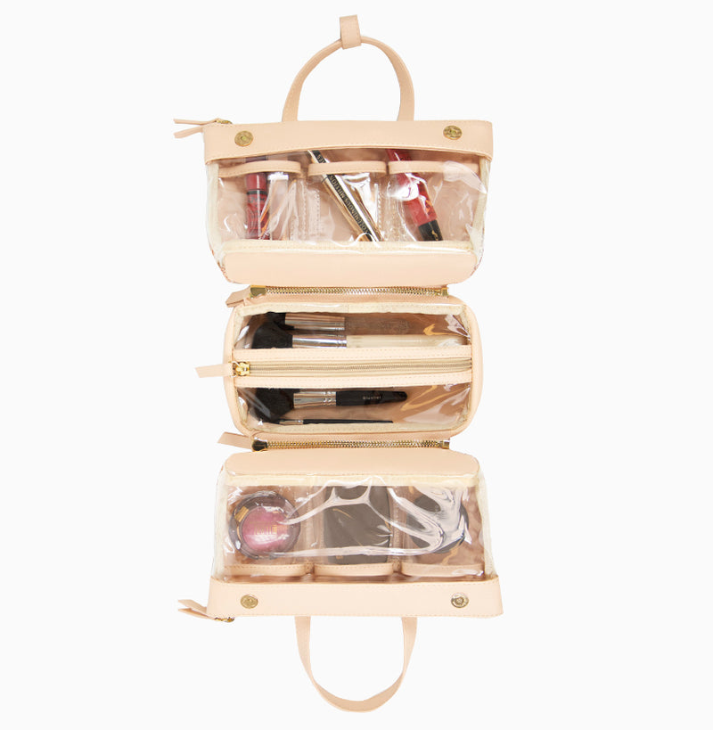 Adira Makeup Case - Blush Lace