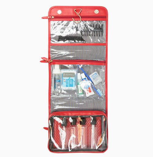 Getaway Toiletry Case - Red