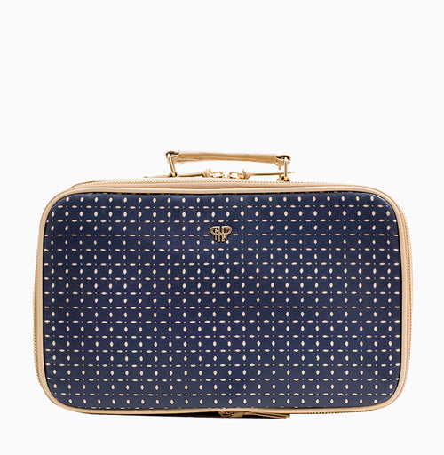 Amour Travel Case - Blue Dunes