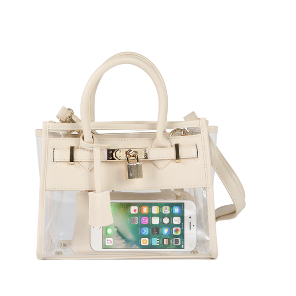 In Chic Stadium Bag - Cream