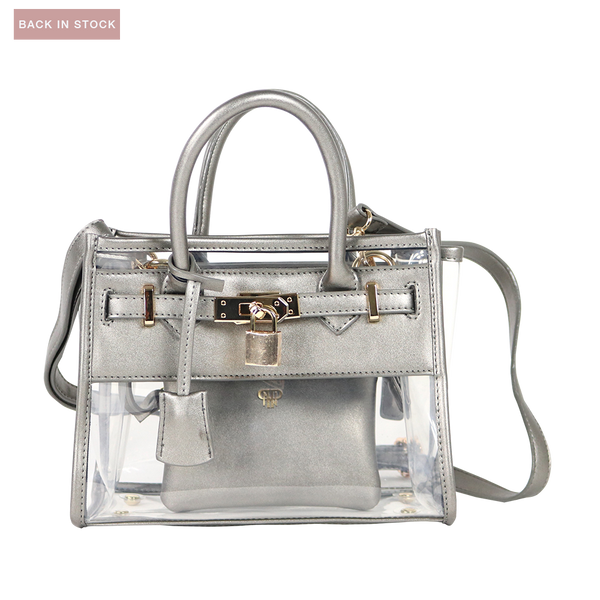 In Chic Stadium Bag - Pewter