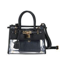 In Chic Stadium Bag - Black