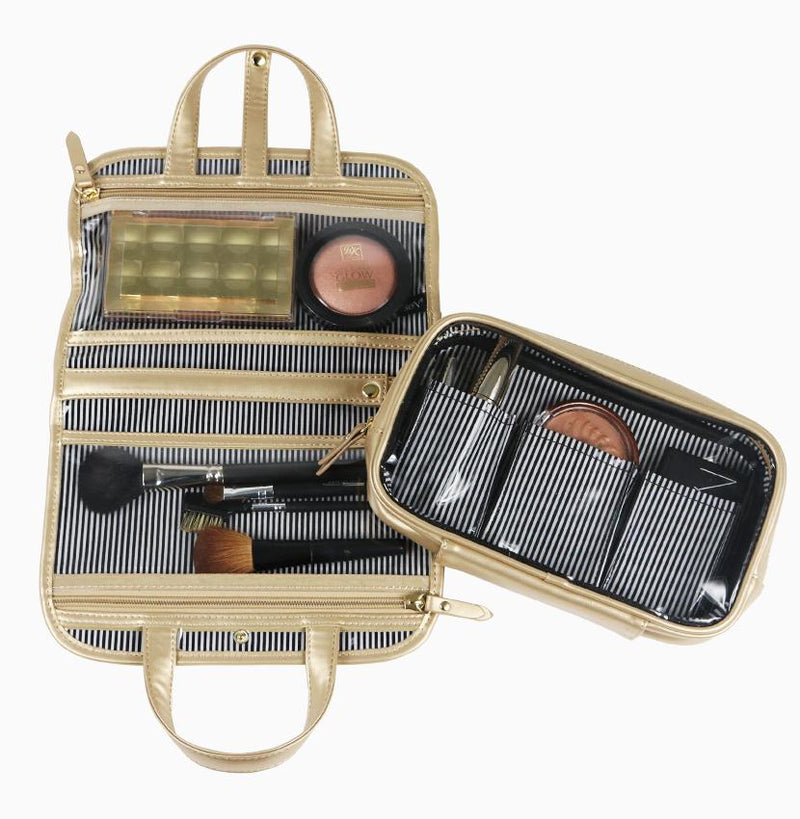 Getaway Travel Case - Gold