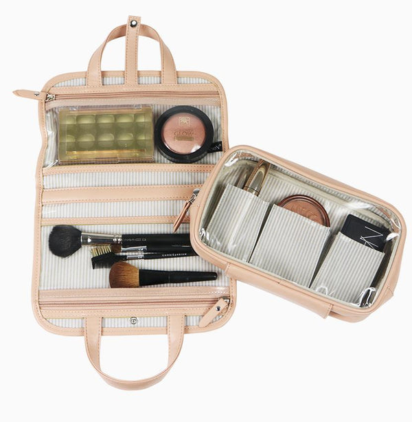 PINKBOGO Getaway Travel Case - Pale Pink