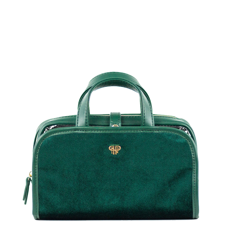 Getaway Travel Case - Velvet Emerald