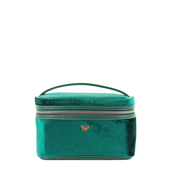 Getaway Train Case - Velvet Emerald