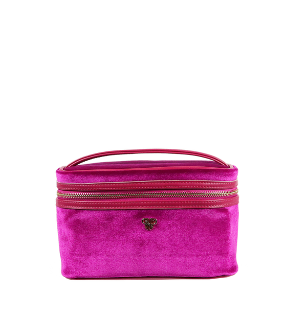 Getaway Train Case - Velvet Fuchsia