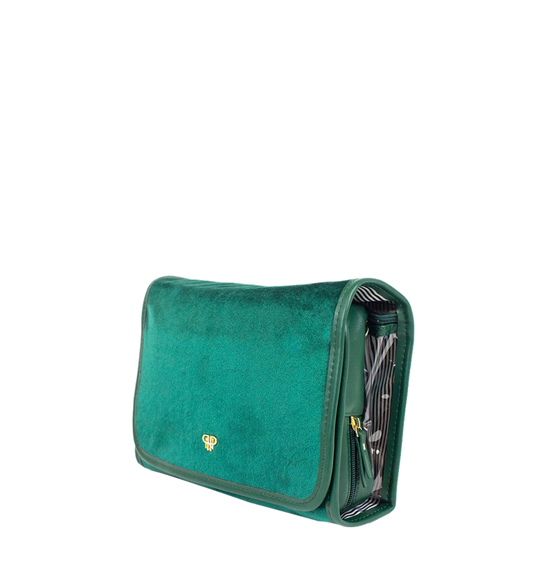Getaway Toiletry Case - Velvet Emerald