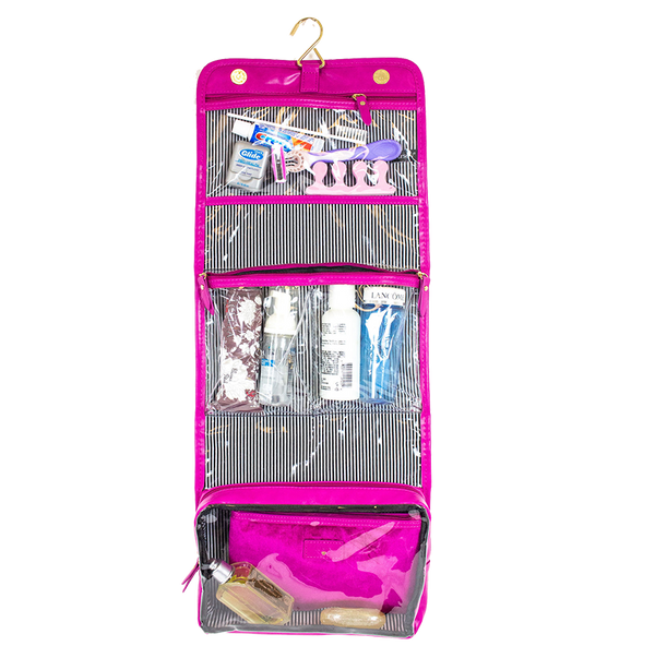 Getaway Toiletry Case - Velvet Fuchsia
