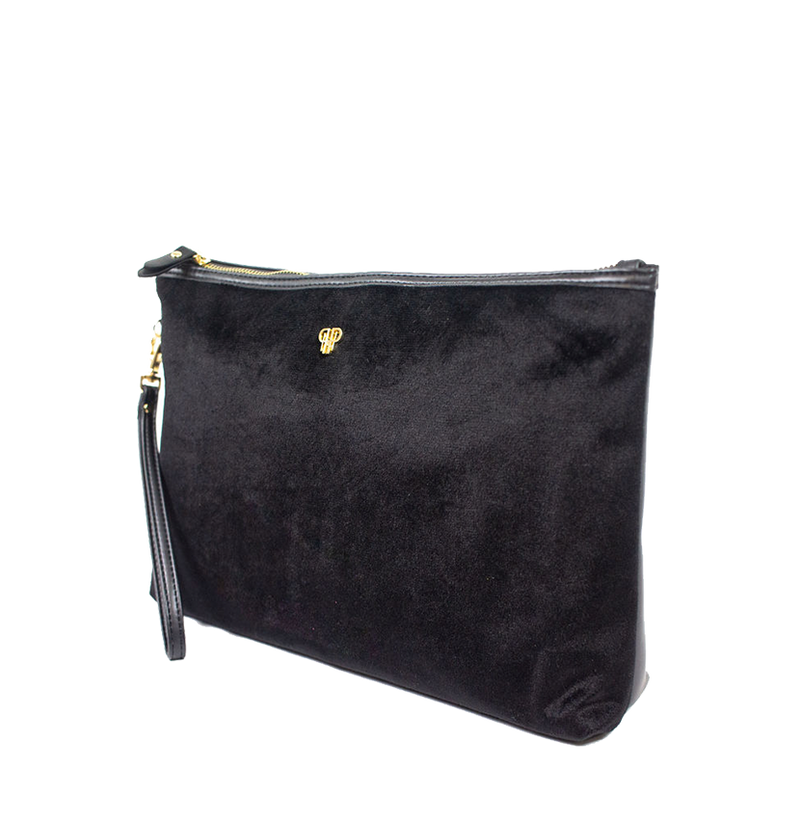 Getaway Large Makeup Case - Velvet Black