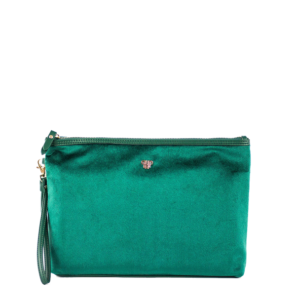Getaway Large Makeup Case - Velvet Emerald
