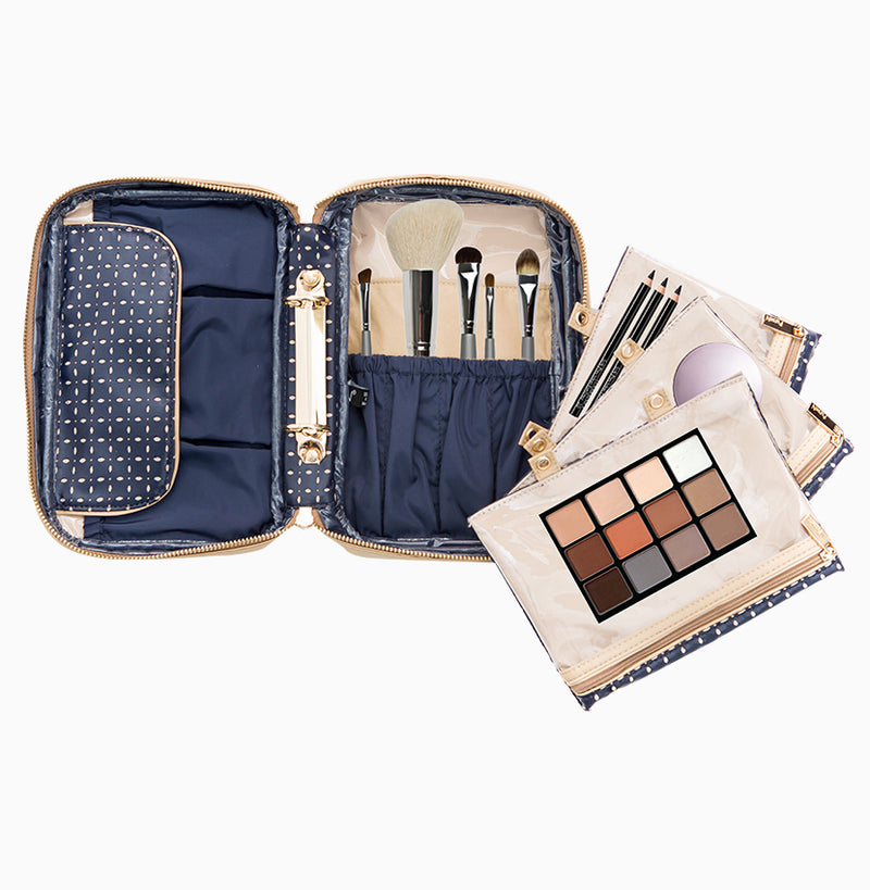Lexi Travel Organizer - Blue Dunes