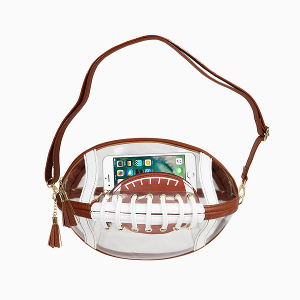 Touchdown Bag - Brown w/ Coin Purse