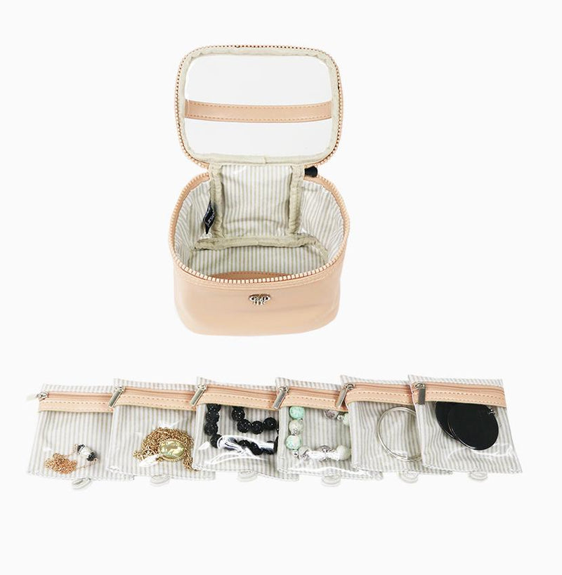 Getaway Jewelry Case - Pale Pink