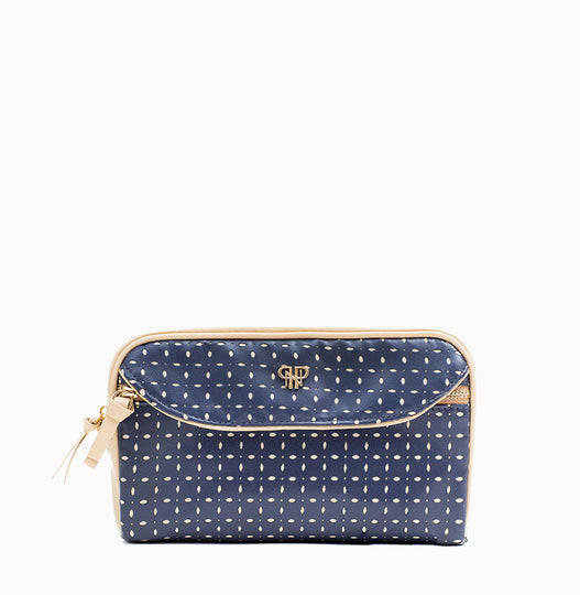 Clutch Makeup Case - Blue Dunes