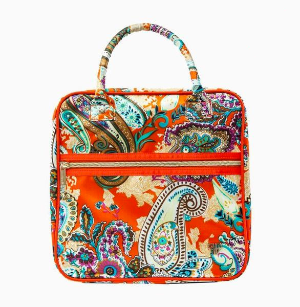 Mini Shelli Travel Bag - Tropical Paisley