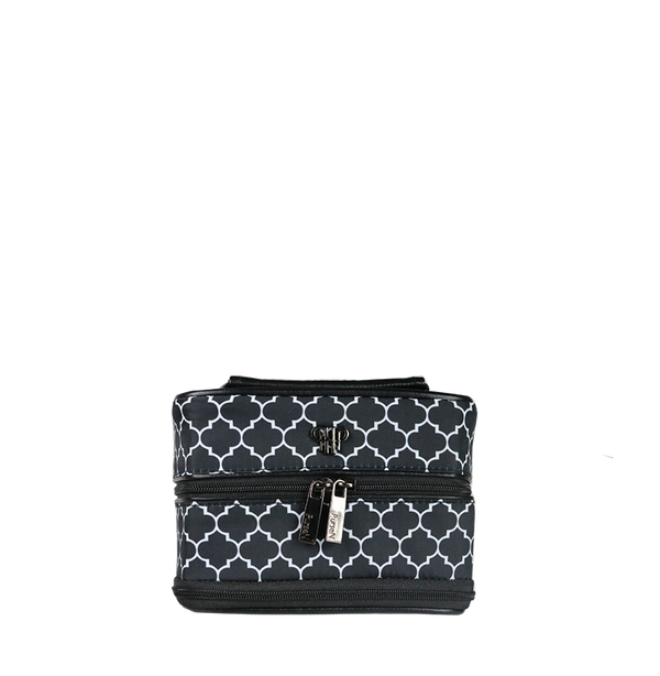 Tiara Vacationer Jewelry Case - Quatrefoil