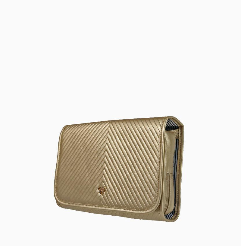 Getaway Toiletry Case - Gold
