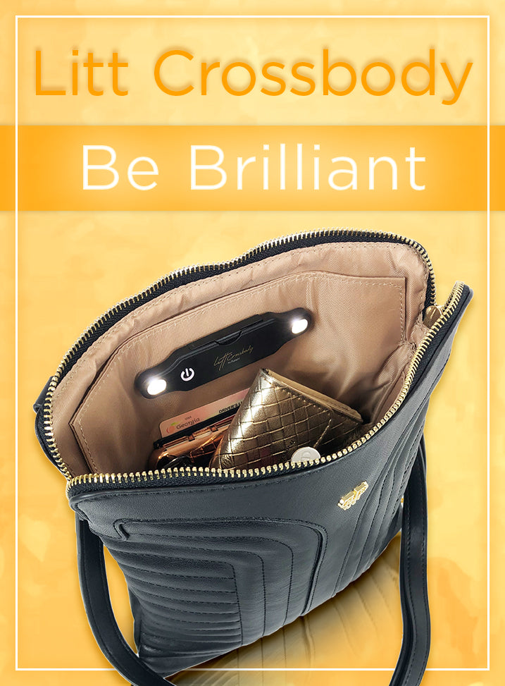 Litt Crossbody. Be brilliant.