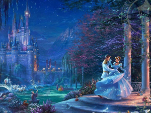 Thomas Kinkade Disney Collection