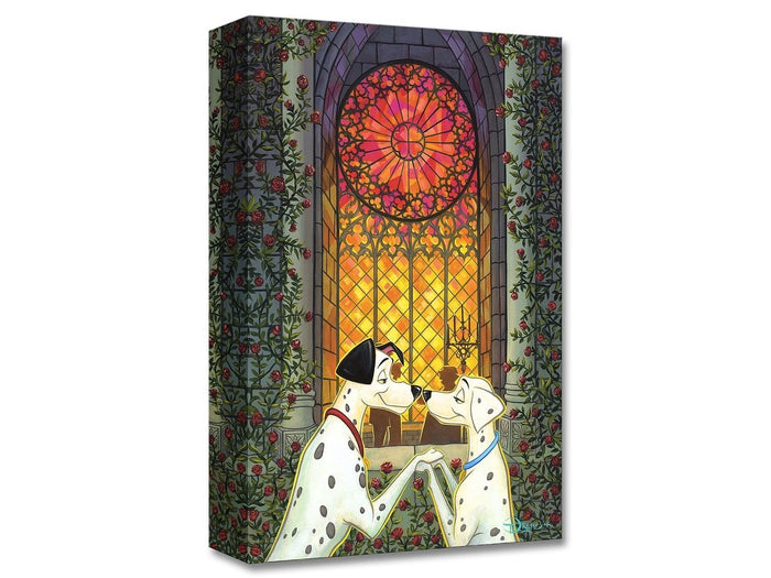 101 Roses - Disney Treasures On Canvas