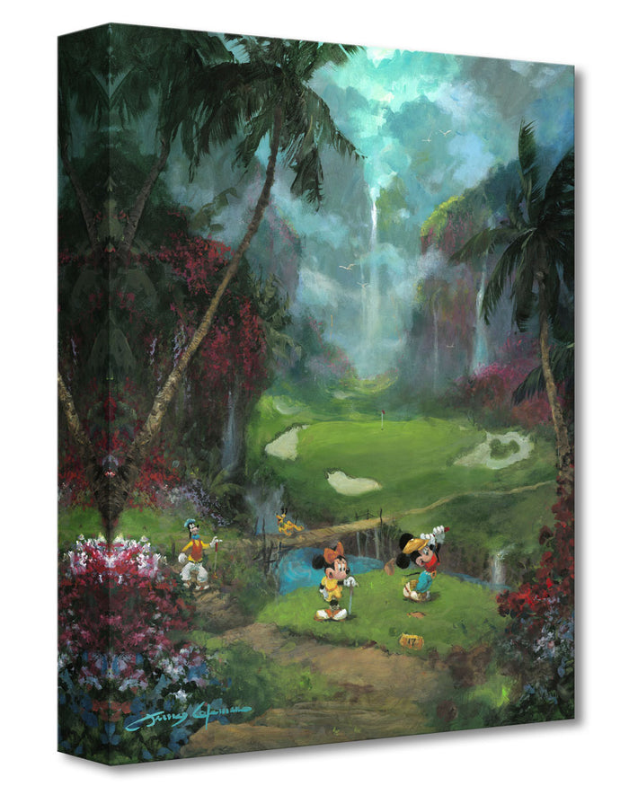 17th Tee in Paradise - Disney Treasures On Canvas
