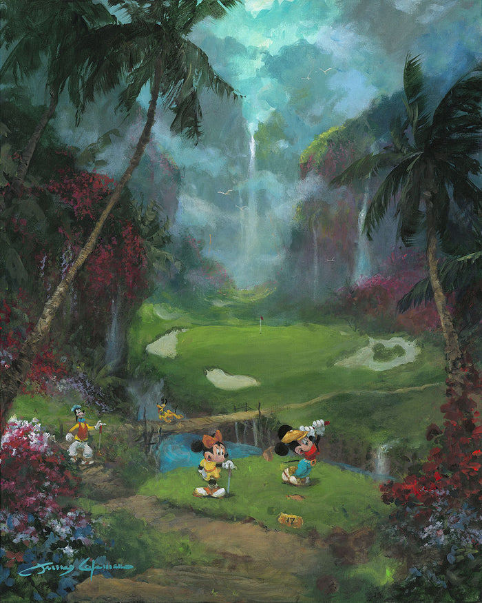 17th Tee in Paradise - Disney Limited Edition