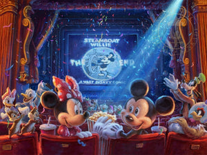 Mickey, Minnie and friends are celebrating 90 years of memories at the movie theater,