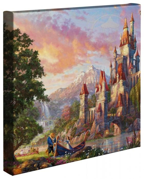 Beauty and the Beast II - Gallery Wrap Canvas