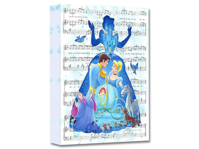 Bibbidi Bobbidi Boo - Disney Treasures On Canvas