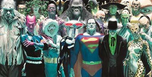 nfinitely Evil by Alex Ross  The lineup of the universal's Evildoers.