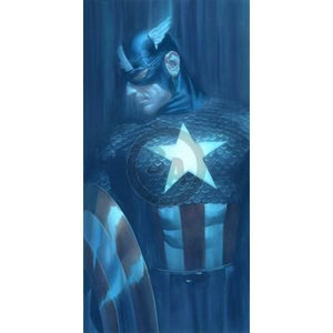 Alex Ross paints realistic portraits of  Captain America
