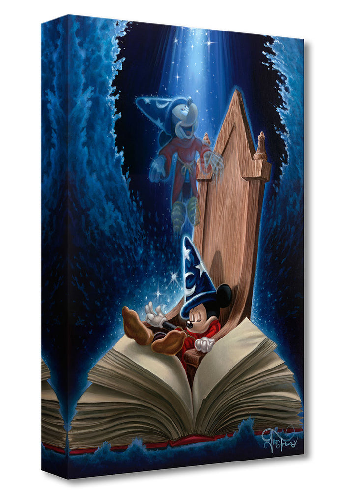 Dreaming of Sorcery - Disney Treasures On Canvas
