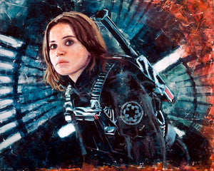 Jyn Erso - Rebel Alliance.