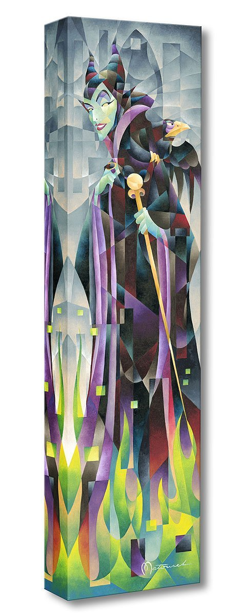 Flames of Maleficent - Disney Treasures On Canvas