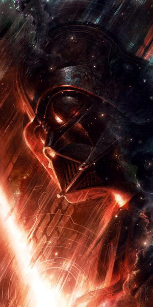 Star Wars Art - Forged in Darkness Darth Vader