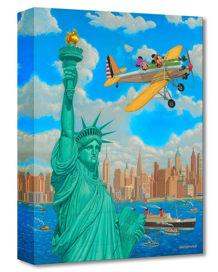 Freedom Flight - Disney Treasures On Canvas