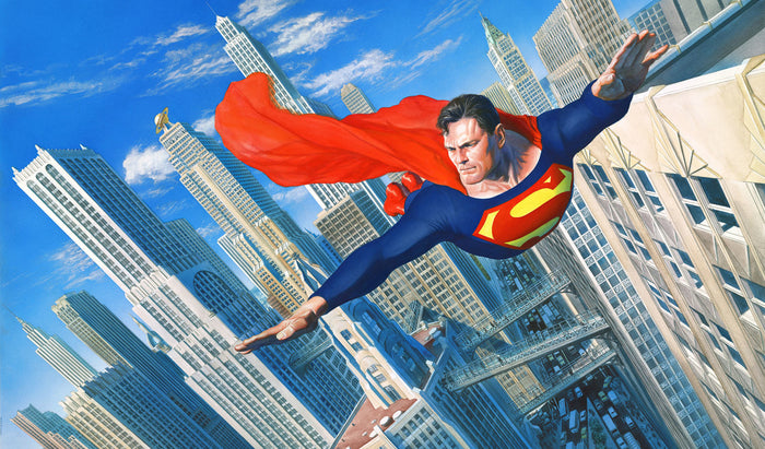Look! Up in the Sky - DC Comics Art