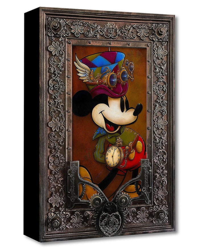 Mickey Through the Gears - Disney Treasures On Canvas