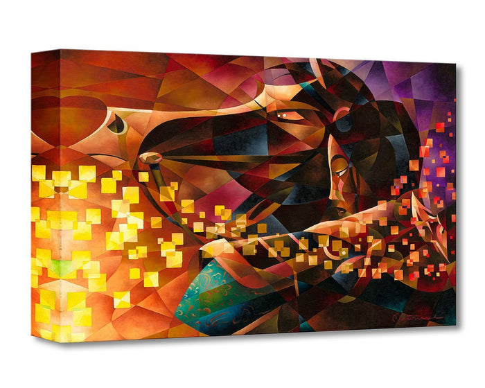 Mulan the Warrior - Disney Treasures On Canvas