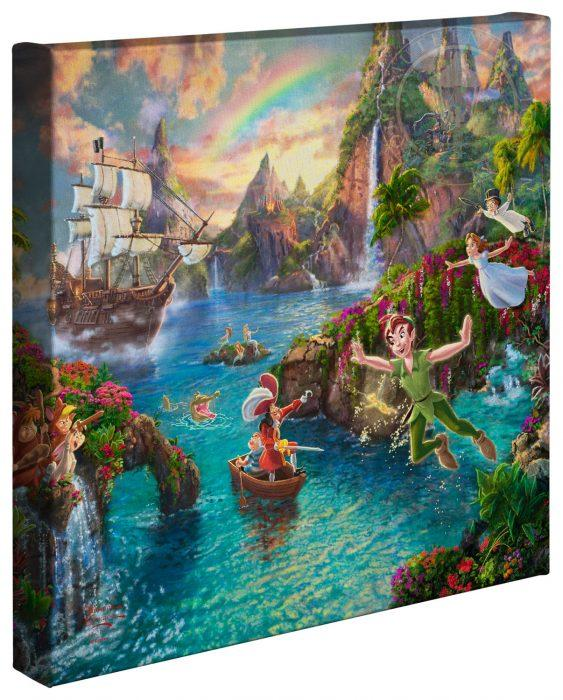 Peter Pan's Never Land - Gallery Wrap Canvas
